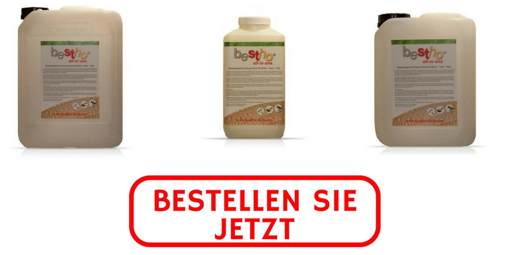 3 Produkte gegen Wandfeuchtigkeit